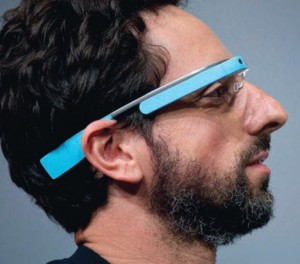 Exemple de Google glass